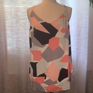 Torrid NWT geometrical design tank blouse